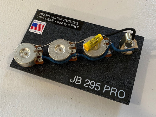 Wiring Harness for Fender J-Bass: CTS 295 Pro