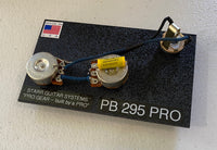 Wiring Harness for Fender P-Bass: Model CTS 295 PRO