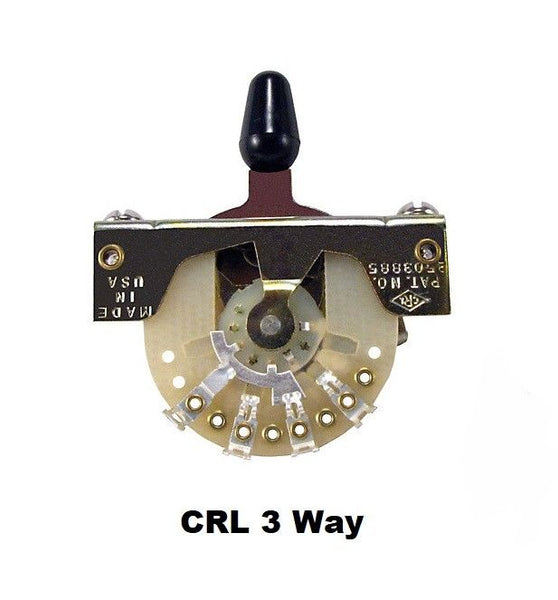 CRL 3-Way Pickup Selector Switch For Telecaster