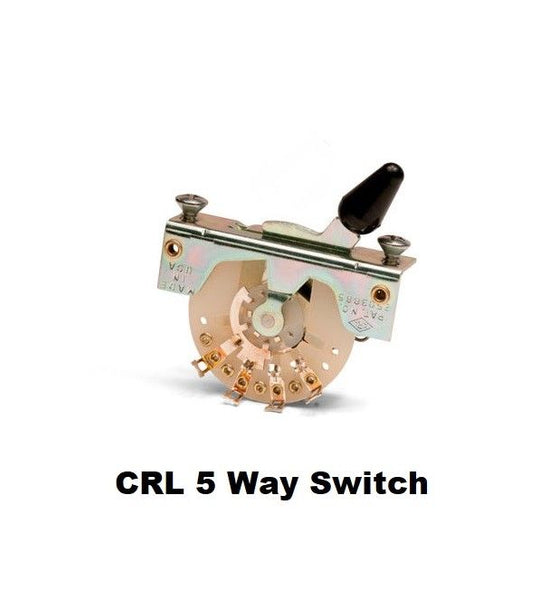 CRL 5-Way Pickup Selector Switch For Stratocaster