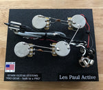 Wiring Harness for Gibson Les Paul - Active EMG pickups