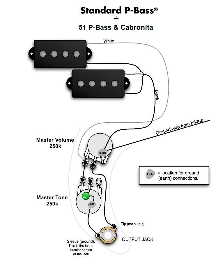 wiring harness for fender pbass vintage pro