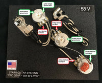 Wiring Harness for Gibson Flying V 1958- Standard