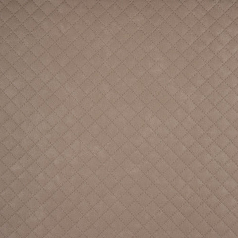 Jutta Quilted Leatherette, Beige