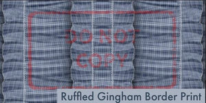 Oz - Ruffled Gingham