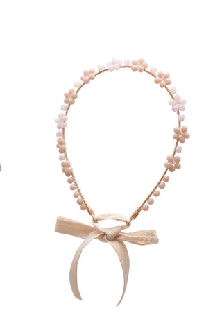 Peach Full Flower Headband