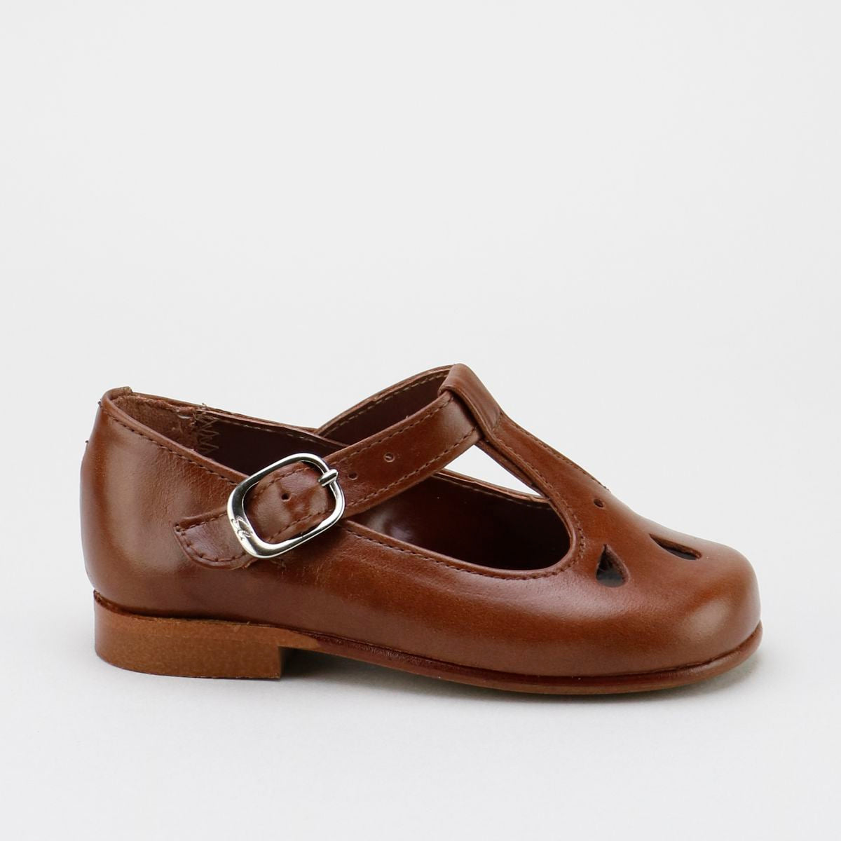 Madison T-Strap, Brown