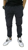 Jogger Black Dice Dark Blue