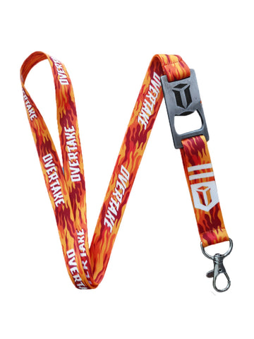 Lanyard Overtake Orange White