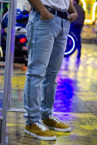 Pantalon Jeans Kulture Light Blue Stonewash