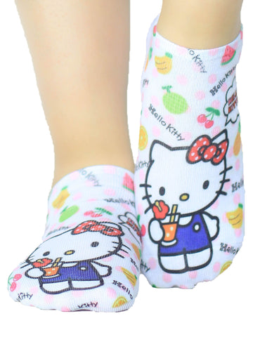 Talonera Abnormal Hello Kitty Frutas