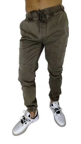 Jogger Black Dice Brown