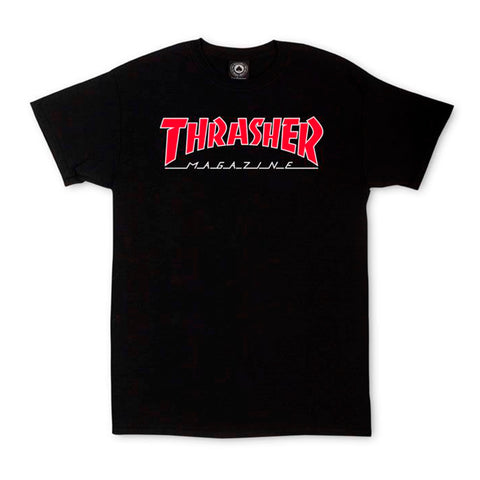 Polo Trasher Outliner Black