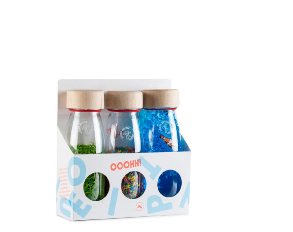 Pack 3 Botellas Sensoriales ECO