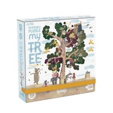 Pocket my tree reversible puzzle