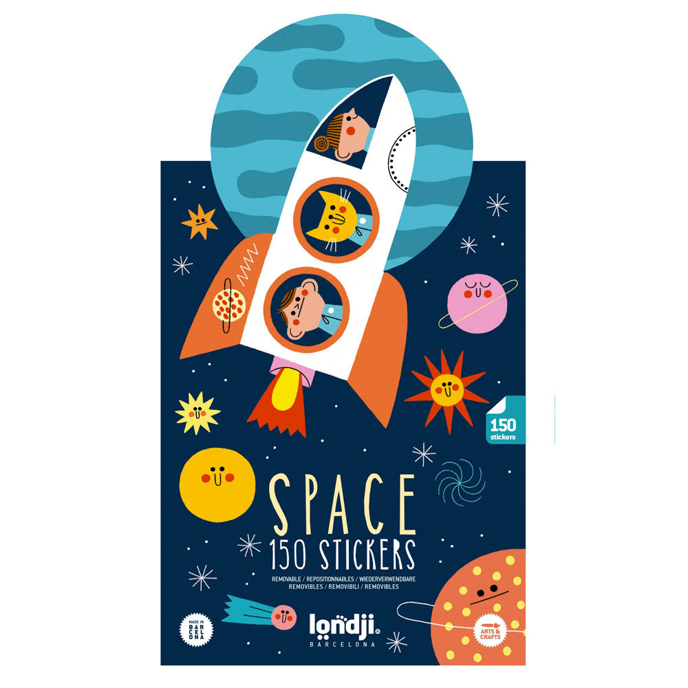 Space sticker mix