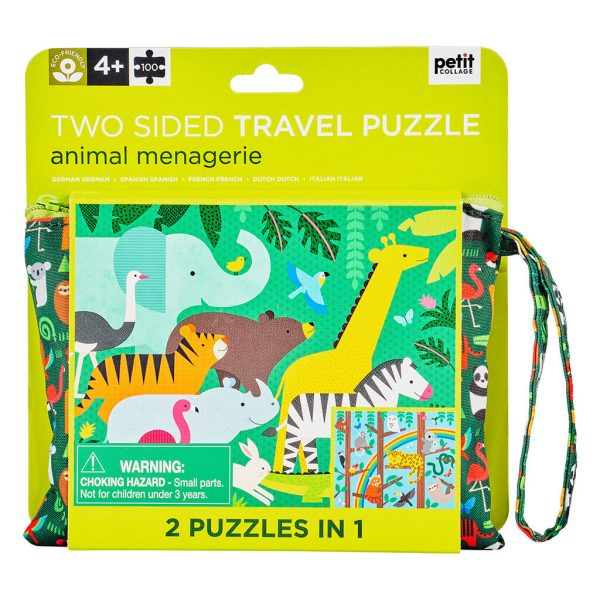 Puzzle On the Go 2en1 Jungla