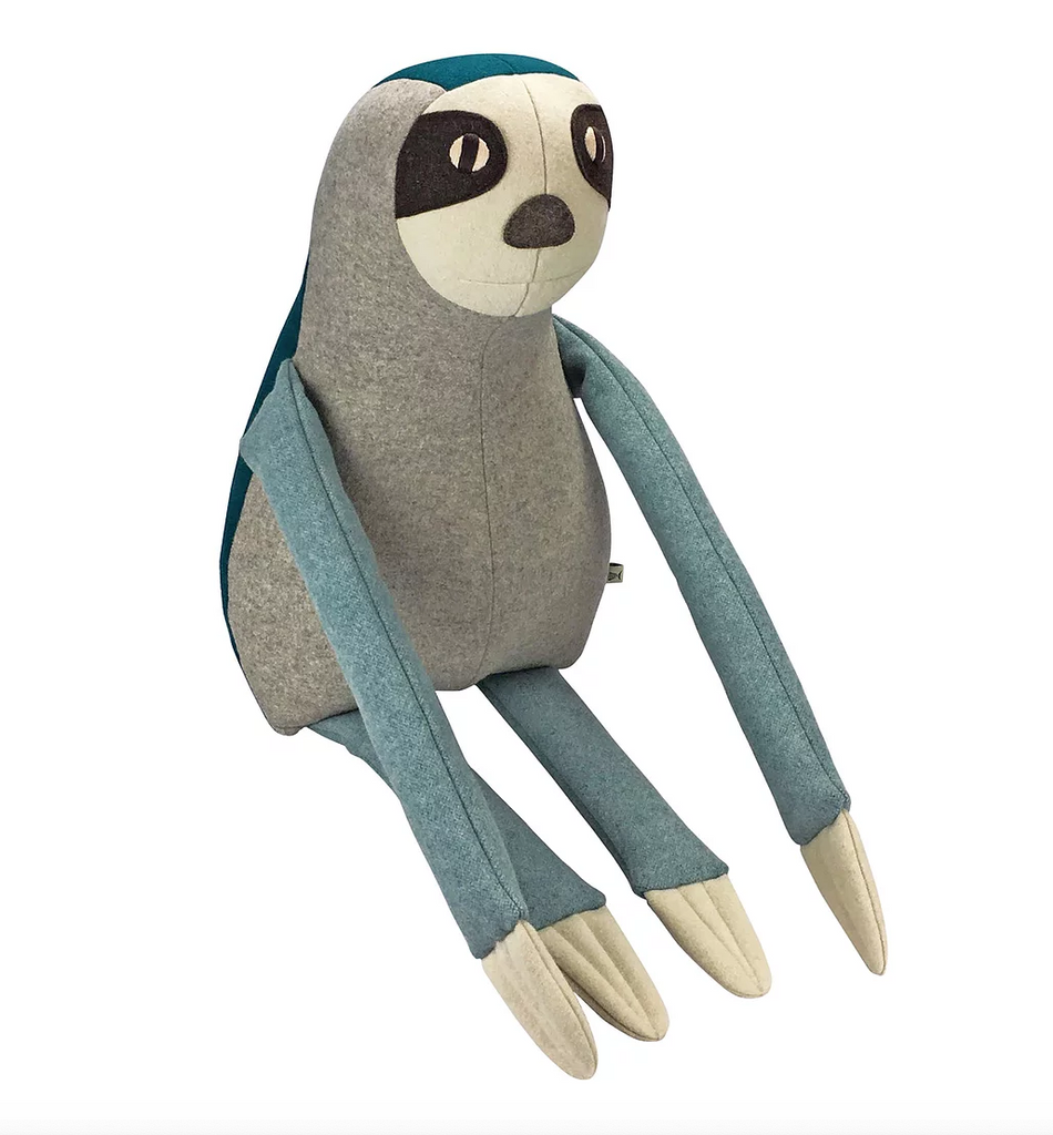 NED, the Brown-Throated Sloth