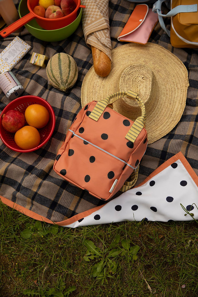 Mochila pequeña Sticky Lemon - freckles | special edition | faded orange