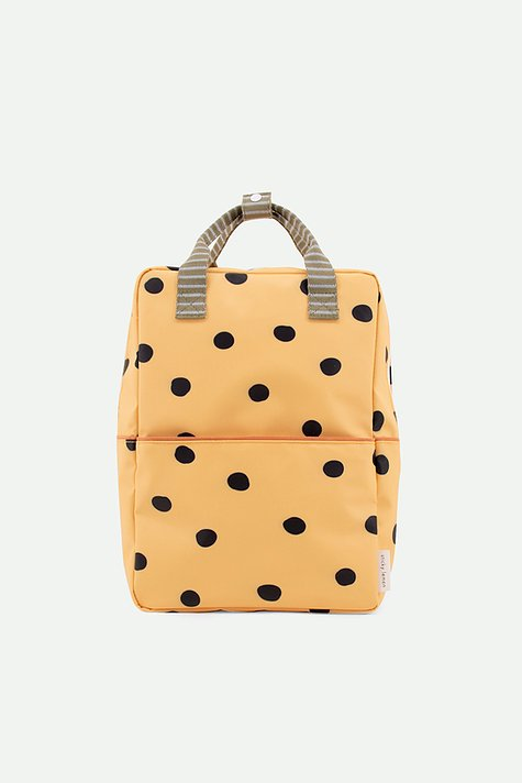 Mochila Grande Sticky Lemon - special edition | freckles retro yellow