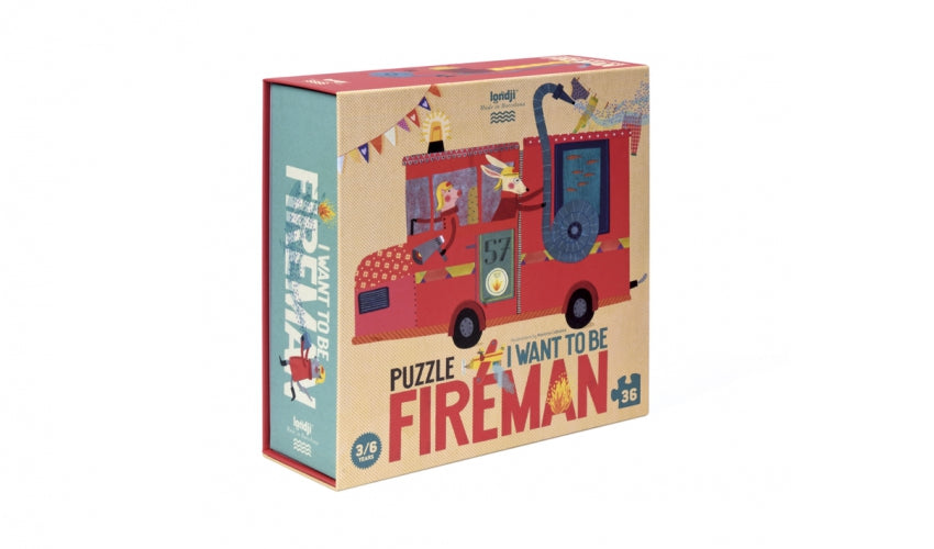 Puzzle I want to be a fireman