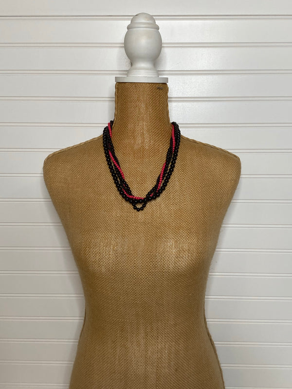 Beaded Dual Necklace