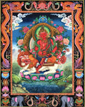 Lion Roar Avalokiteshvara, 40'X50', pure natural pigment color in cotton cloth canvas