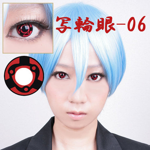 Mangaekyo Sharingan Contact Lenses