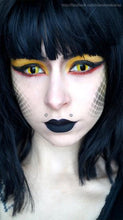 Load image into Gallery viewer, Innovision Cosplay - Yellow Cats Eye-Cosplay Contacts-Lensupermart