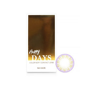 Neo Vision - Happy Days Violet (Monthly Disposable)