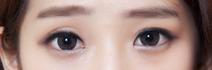 Four Vision - Choco Ice Flower Grey-Cosmetic Contacts-Lensupermart