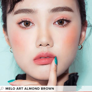 I-SHA - Melo Art Almond Brown