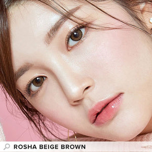 I-Girl - Rosha Beige Brown (Daily Disposable)