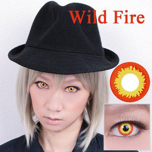 Innovision Cosplay - Wild Fire-Cosplay Contacts-Lensupermart
