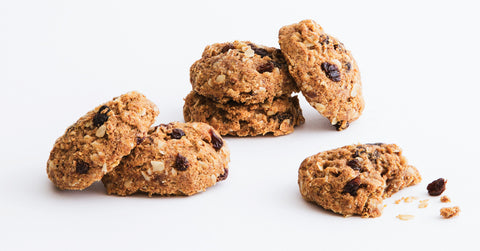 cinnamon oatmeal raisin cookies vegan gluten free