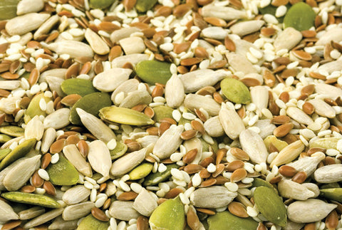 nuts and seeds for granola healthy swap