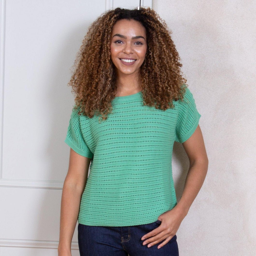 Green Haven Knit Top - The Norse Nook Ltd