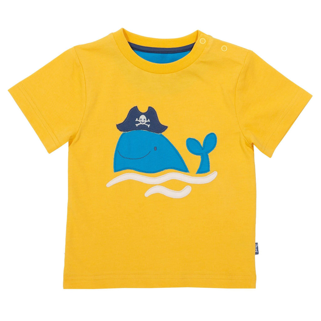 Pirate Whale T-Shirt - The Norse Nook Ltd