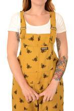 Gold Dungabee Corduroy Dungarees - The Norse Nook Ltd