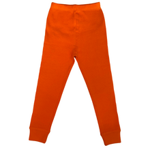 Load image into Gallery viewer, Sunrise Orange Waffle Leggings (Pre-Order)