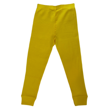 Load image into Gallery viewer, Sunflower Yellow Waffle Leggings (Pre-Order)