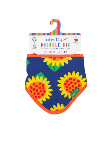 Sunflower Dribble Bib