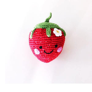 Friendly Strawberry Rattle