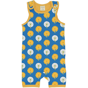 Maxomorra Dandelion Short Playsuit - The Norse Nook