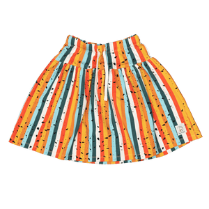 Hey Popinjay Multicolour Stripe Skirt- The Norse Nook