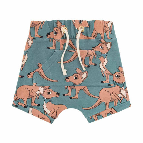 Dear Sophie Blue Cangaroo Shorts - The Norse Nook