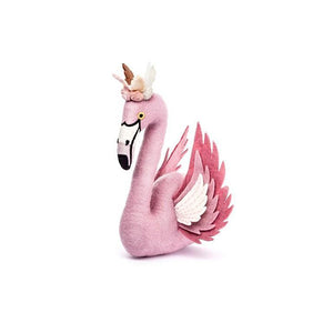 Alice Flamingo Head with Wings