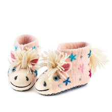 Load image into Gallery viewer, Kid's Celeste the Unicorn Slippers
