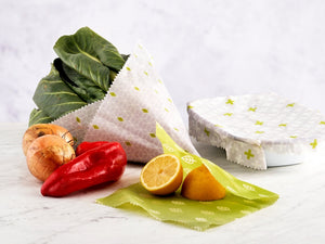 Vegan Food Wraps- set of 3