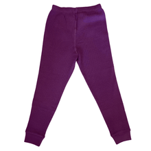 Load image into Gallery viewer, Plum Waffle Leggings (Pre-Order)